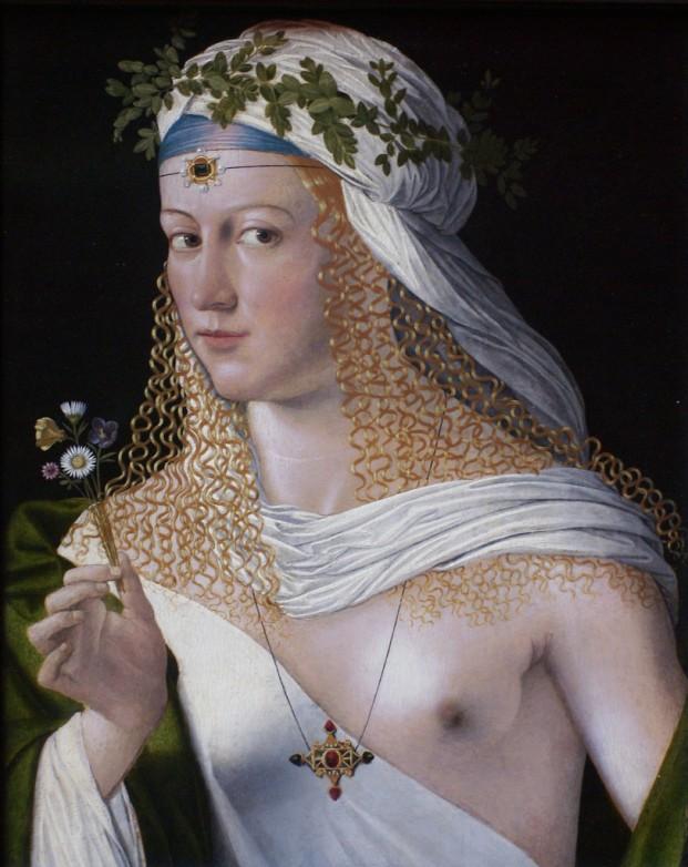 "Bartolomeo Veneto ""Flora als Kurtisane"" © Städel-Museum Frankfurt Main"