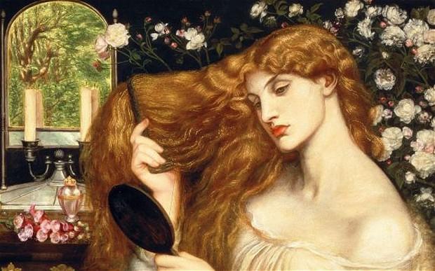 "Dante Gabriel Rossetti ""Lilith"" © Tate Gallery London"