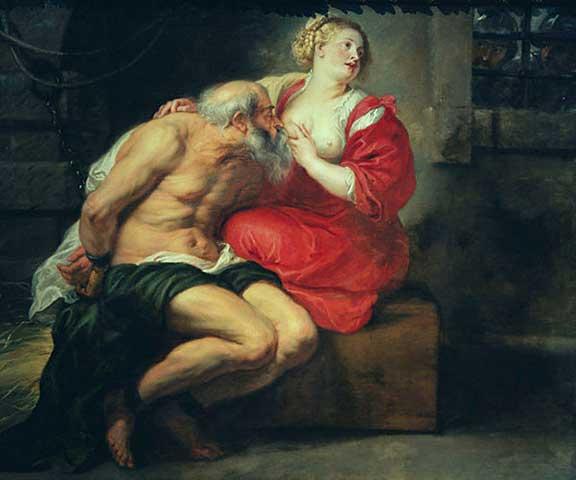 Peter Paul Rubens: Cimon und Pero 1625