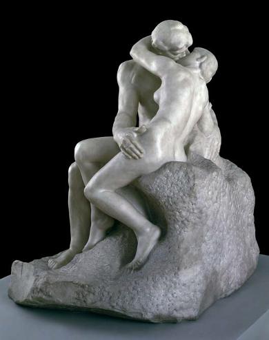 """2. Auguste Rodin """"Der Kuss"""" 1901-04 © Tate Gallery, London"""